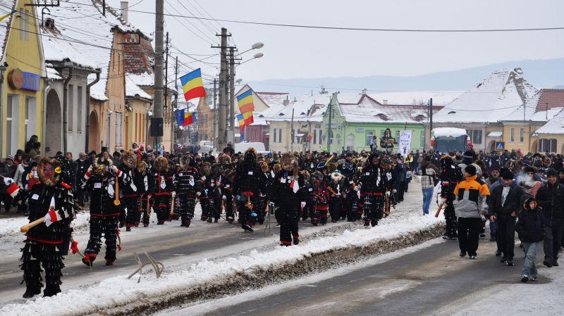 Der einst sächsische Brauch wurde 2006 von Rumänen wiederbelebt.
