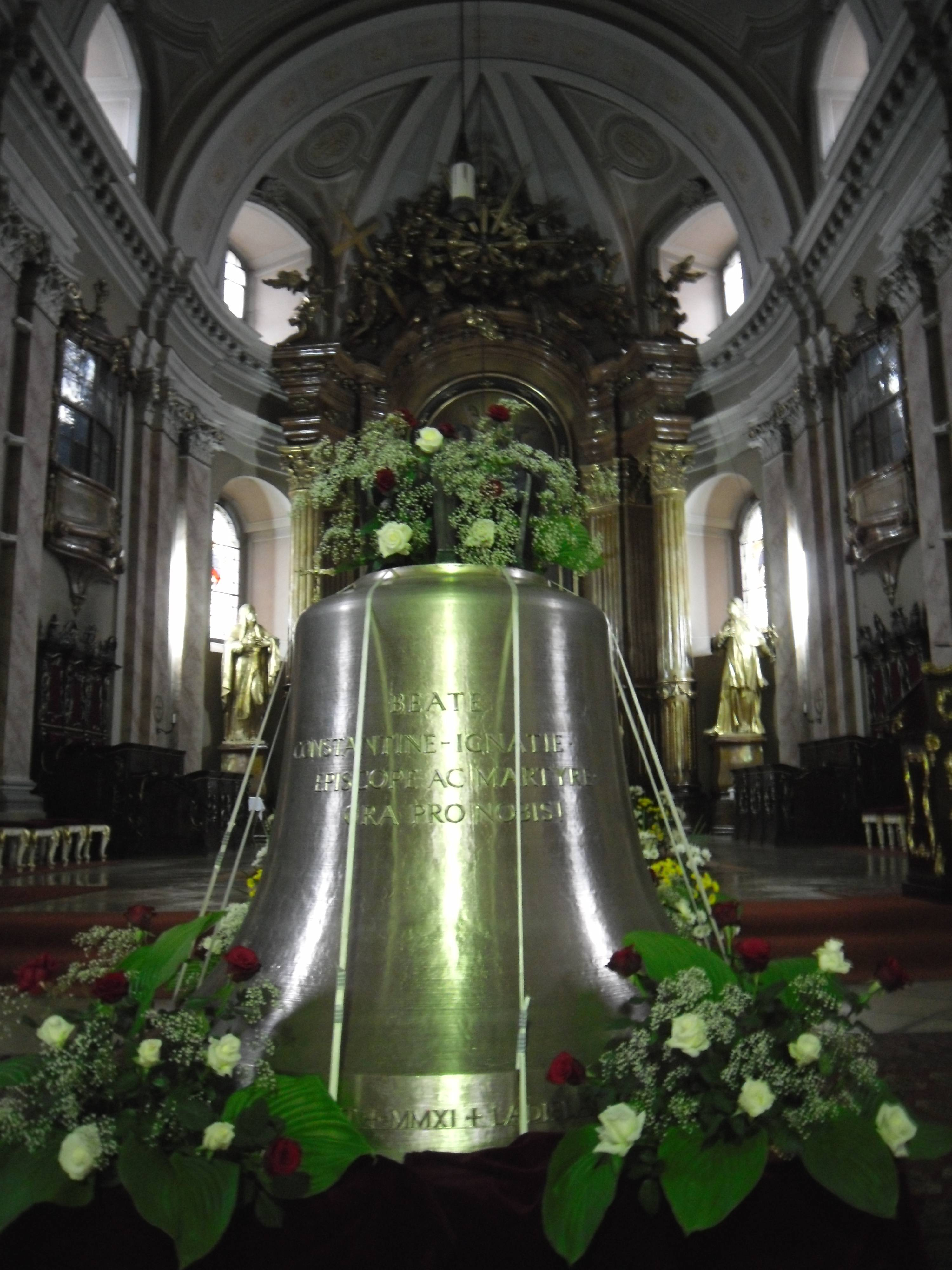 Glocke des Seligen Constantin Ignaz